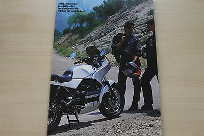 Modellprogramm Generous 167474 Prospekt 09/1986 Bmw Motorrad