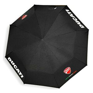 DUCATI-Company-Pocket-Mini-Regenschirm-Schirm-Umbrella-schwarz-NEU