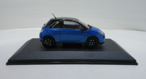Coche modelo Opel Adam azul negro medida vara 1:43 arden Blue Onyx Black 10927 auto