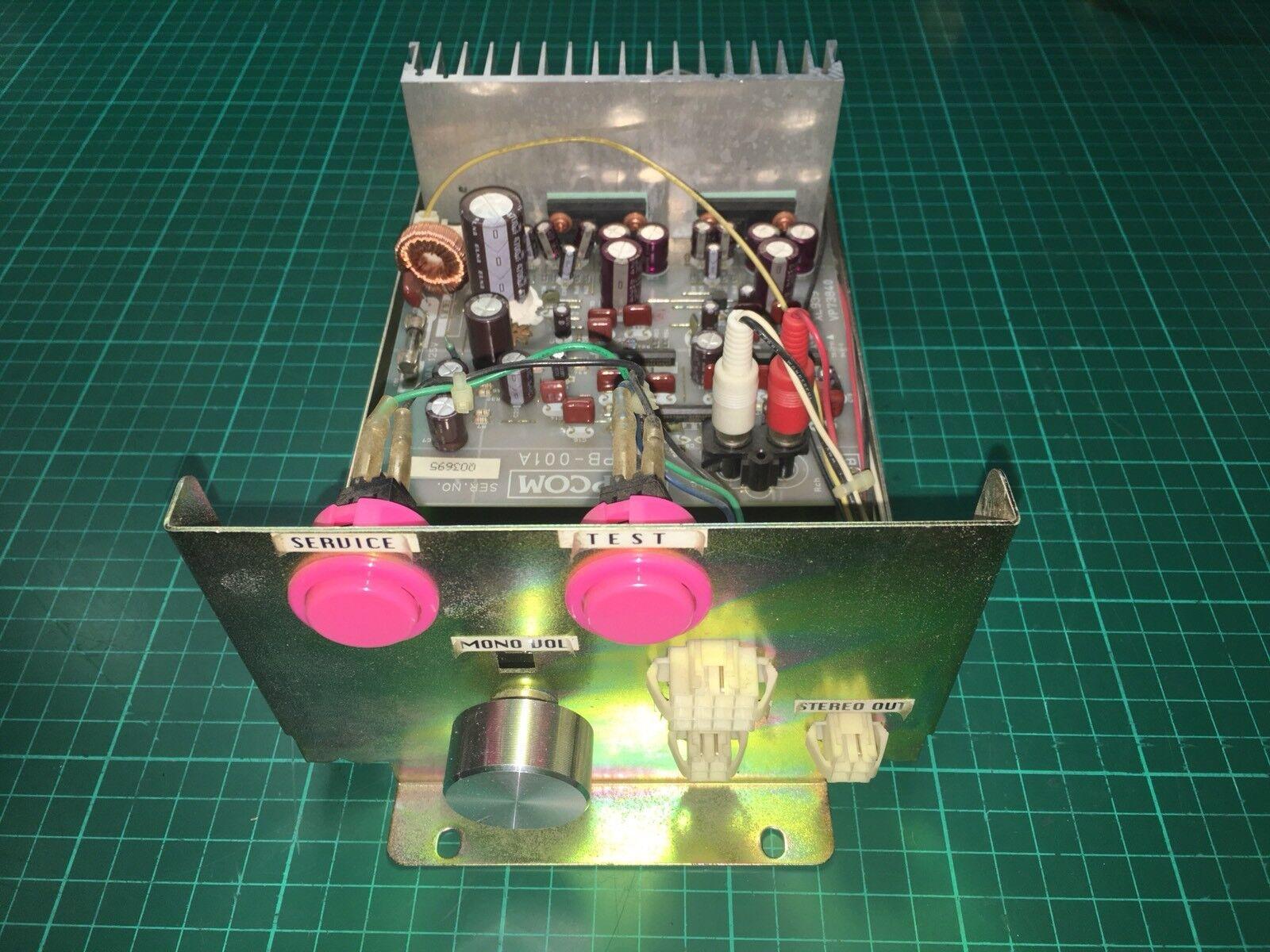 Ampli Son Capcom Impress CPS2 Q Sound Amplifier Original For Capcom Impress