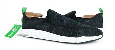 Sanuk Men/'s Chiba Quest Knit Ankle-High Fabric Slip-On Shoes