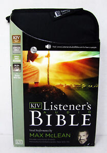 NEW-Audio-Bible-KJV-CD-King-James-Version-Max-Mclean-Old-and-New-Testament