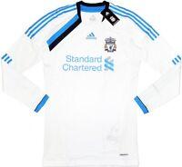 11/12 Liverpool Third TECHFIT Player Issue Football Shirt Soccer Jersey Top Kit