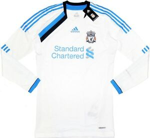 11-12-Liverpool-Third-TECHFIT-Player-Issue-Football-Shirt-Soccer-Jersey-Top-Kit