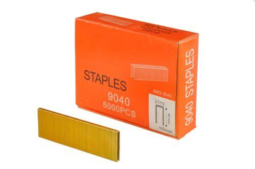 5000 Tackerklammern Drucklufttacker 5,8mm x4 0mm Nagler Heftklammern 00998