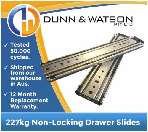 """32/"""" Draw 500lb 813mm 227kg Heavy Duty Drawer Slides // Fridge Runners"""