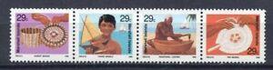 S1992) Marshall Isl. 1992 MNH Artesanías 4v