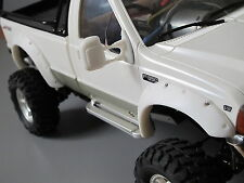 Front & Rear Rubber Fender Flares Guard Set Tamiya RC 1/10 Ford F-350 High Lift