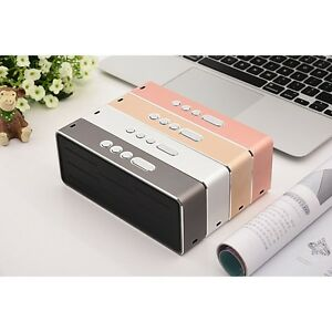 Universal Wireless Desktop Bluetooth Portable Speaker For BLU Studio C 5 + 5