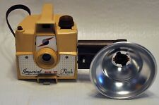 Vintage Imperial Mark XII Flash Camera 1950's Tan