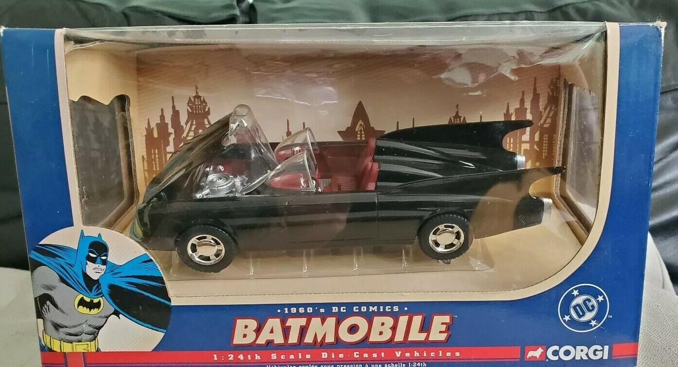 Corgi 1960's DC Comics Batman Batmobile Die Cast Vehicle 1 24 scale