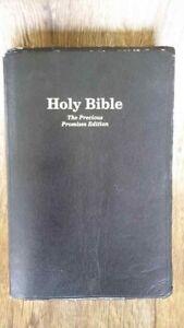 Details about Holy Bible Giant Print King James Version KJV Concordance   PRECIOUS PROMISES ED