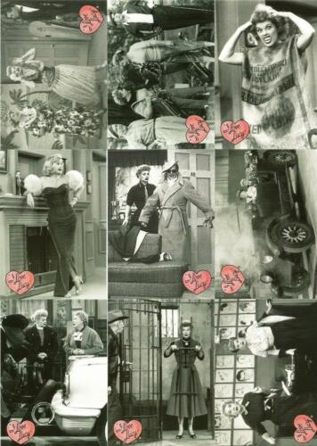 I Love Lucy 50th Anniversary Full 72 Card Trading Card Base Set New