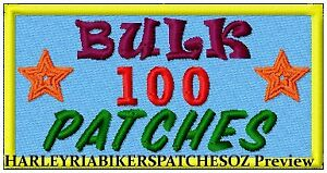 CUSTOM-MADE-TO-ORDER-SPECIAL-BIKER-EVENT-RALLY-PATCHES-100-BULK-DEAL