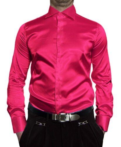 Boda señores brillo camisa perchas ligeramente bodas camisa muchos satén colores New Kent