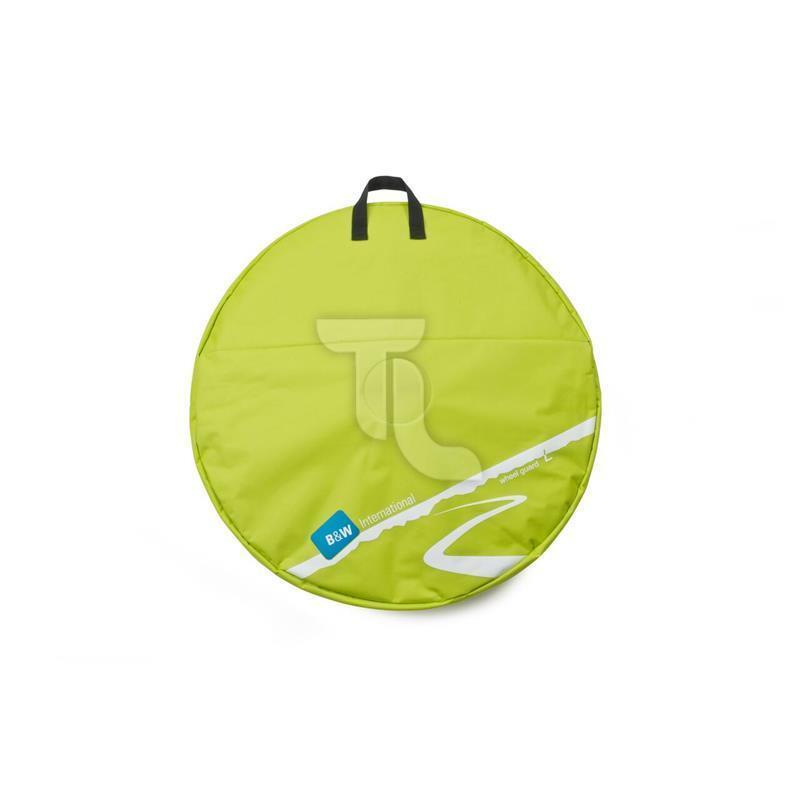 B&W Laufradtasche oder Double Wheelguard green NEU
