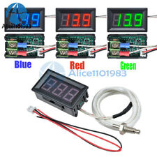 30c 800c Digital Led Diaplay Thermometer K Type M6 Thermocouple Gauge Meter