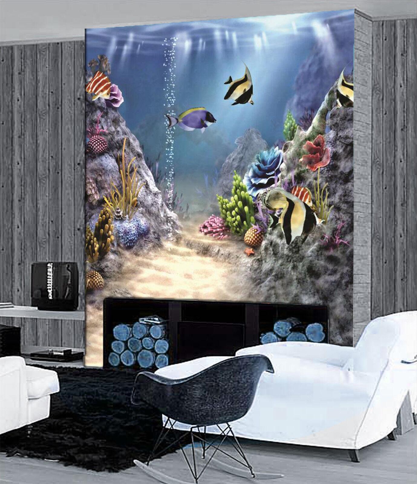 3D Ozean Ozean Ozean Fisch Riff 896 Tapete Wandgemälde Tapete Tapeten Bild Familie DE Lemon | Großer Räumungsverkauf  087bf2