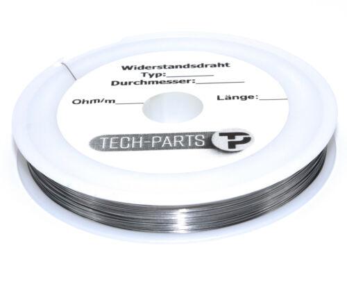 Altissima resistenza D 0,20mm filo 43,95 ohm//m cavo riscaldante kanthaldraht