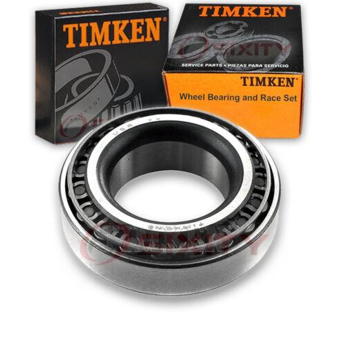 Timken Front Wheel Bearing /& Race Set for 1966-1974 Oldsmobile Toronado Left pi