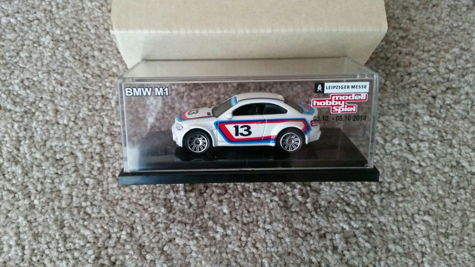 Matchbox BMW 1M M1 Coupe 2014 1 500 Leipzig Germany Toy Fair E82 1er 135i