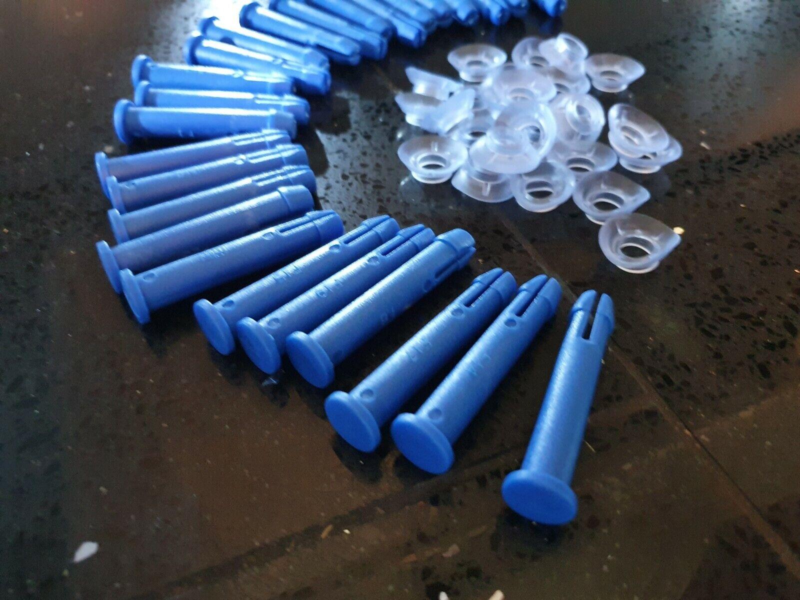 New Bestway Steel Pro Frame Pegs x6 Pins Pool Part 10ft 12ft * Genuine Item *