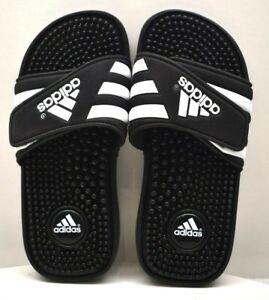 823ad5928689c Adidas Adissage Sandal 078285 K Black White US Size 2 - FREE ...