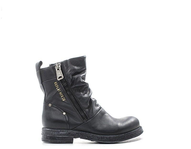 Chaussures REPLAY Femme noir Cuir naturel RL260056L