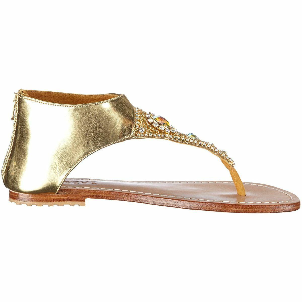 Mystique Sandaletten gold Leder 4048 4048 Gr.40