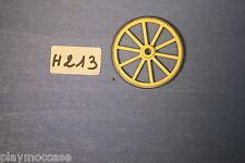 (H213) playmobil pièce roue chariot sudiste western 3784/3785