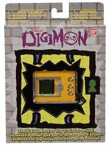 Digimon Yellow Digital Monster Training Hand Held Game Bandai - Tamagotchi 2019