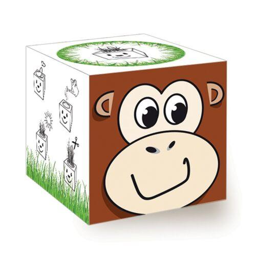 FUNNY Grass Cube-Scimmia