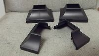 2 Wrought Iron Handrail Stair Rail Post Covers Bases Shoes Feet Skirt 2 U.s.a.