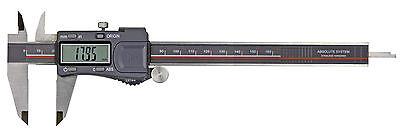 Digital Messschieber 200 Mm - Ip 54 Schutz Din 862 - Absolut System üBerlegene Materialien