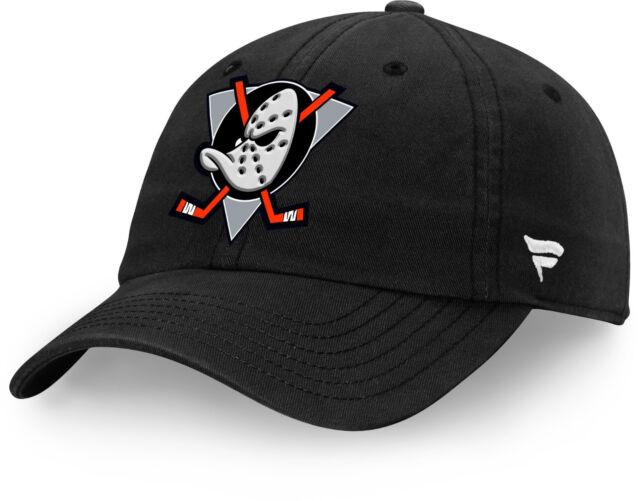 Anaheim Mighty Ducks Fanatics NHL Strapback Adjustable Hat Dad Cap ... 59a36475c3f