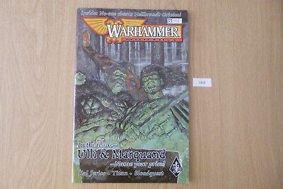 Gw Warhammer Mensile-issue 31 2000 Ref:1418-mostra Il Titolo Originale Ricco Di Splendore Poetico E Pittorico