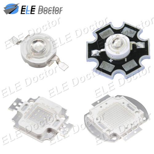 1W 3W 5W 10W 20W 30W 50W 100W High Power Turquoise 500-510nm COB LED Beads Board