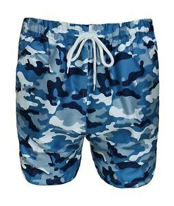 raggio altezza Varietà  Costume Camouflage uomo militare mimetico shorts pantaloncino boxer bermuda  mare   eBay
