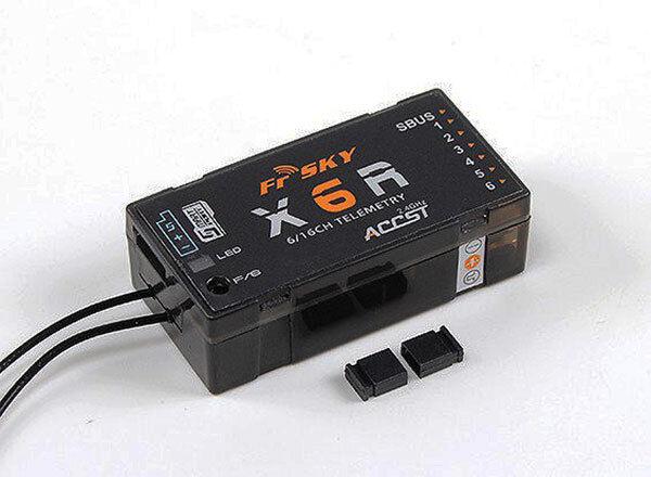 FrSky X6R 6 16Ch S.BUS ACCST Telemetry Receiver W Smart Port - UK