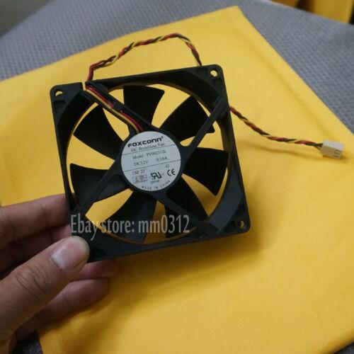 12V 0.16A 9CM 90X90X25mm 3pin Ventilador de Computadora FOXCONN PV902512L Ventilador 9225 1 un