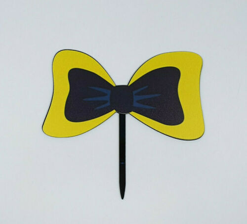 EMMA BOW WIGGLES ACRYLIC CAKE TOPPER GREAT QUALITY!!