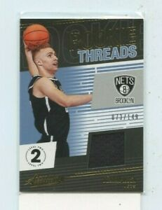 DZANAN-MUSA-2018-19-PANINI-ABSOLUTE-ROOKIE-THREADS-JERSEY-RELIC-RT-DZM