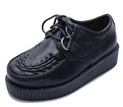 BOYS GIRLS LACE-UP BLACK CHILDRENS