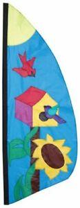 Premier-Kites-23881-Wind-Garden-Ripstop-Nylon-Feather-Banner-Birdhouse-8-1-2-039