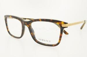 Clear Frame Versace Glasses : VERSACE VE 3210 108 53MM HAVANA FRAME CLEAR DEMO LENSES ...