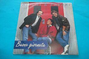 RICCHI-E-POVERI-BUONA-GIORNATA-SE-MI-INNAMORO-45-GIRI-NUOVO-1990-EMI