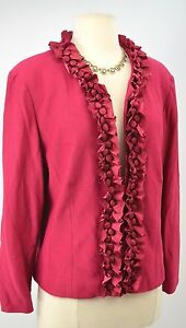 Suit Satin Coldwater Jacket Light Creek 16 Shabby Pleated Cwc Blazer Ruffle Coat EqUxTEz