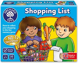 Orchard Toys Shopping List jeu