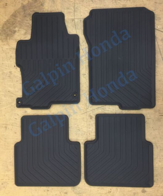 Honda Genuine Accessories 08P13-T2A-110 All Season Floor Mat for Select Accord Models