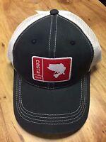 Brand Costa Del Mar Mesh Adjustable Cap Hat Original Patch Bass Navy White